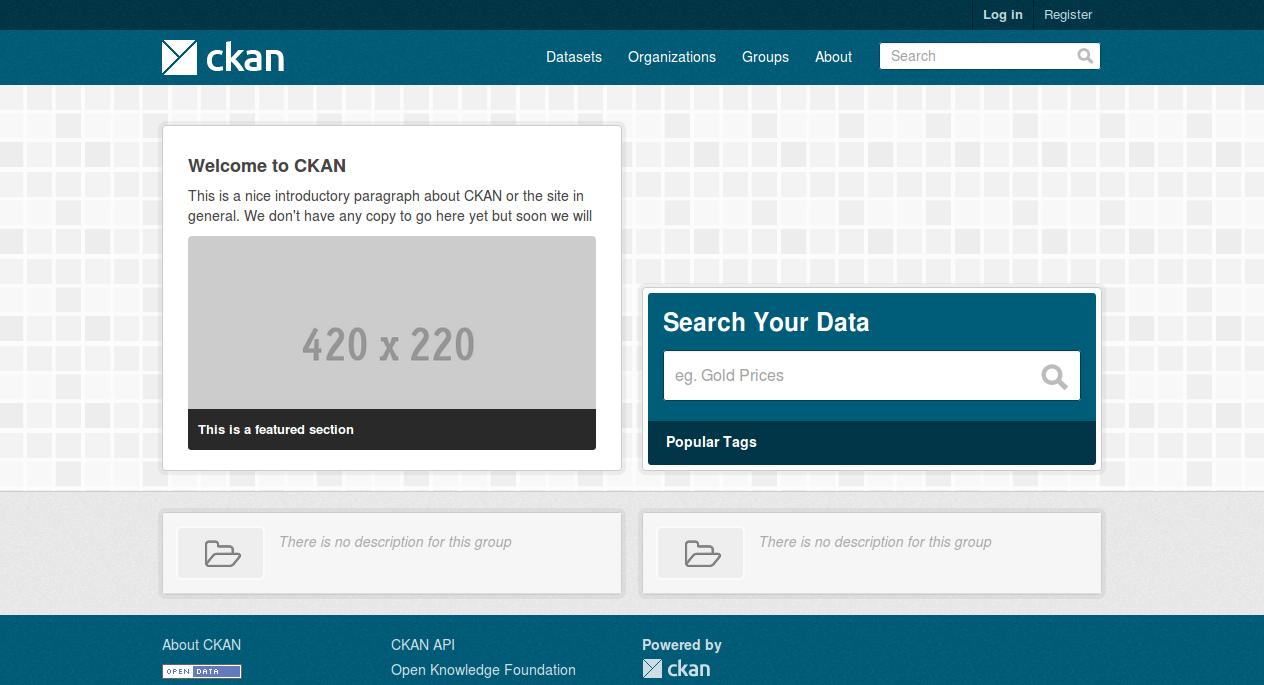 Installing CKAN from package — CKAN 2 8 2 documentation