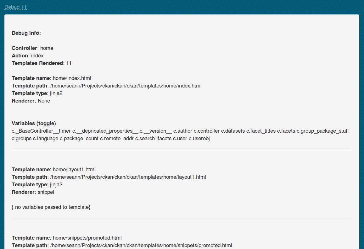 Customizing CKAN's templates — CKAN 2 8 2 documentation